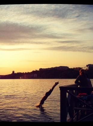 Stockholm waters